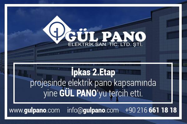 İpkas 2. Etap Projesi Elektrik Pano